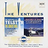 Carátula de The Ventures Play Telstar / (The) Ventures in Space