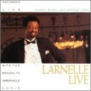 Album cover for Larnelle Live