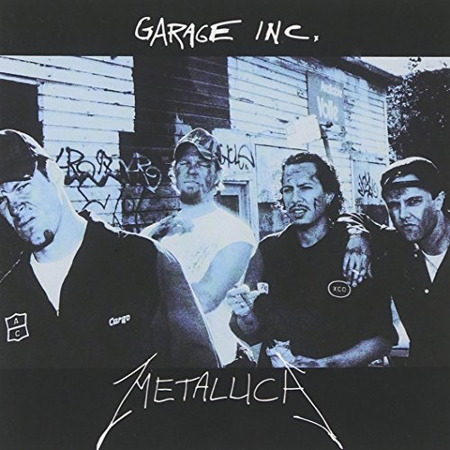 CD-Cover: Metallica - Garage, Inc.