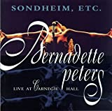 Copertina di album per Sondheim Etc.: Bernadette Peters Live at Carneige Hall