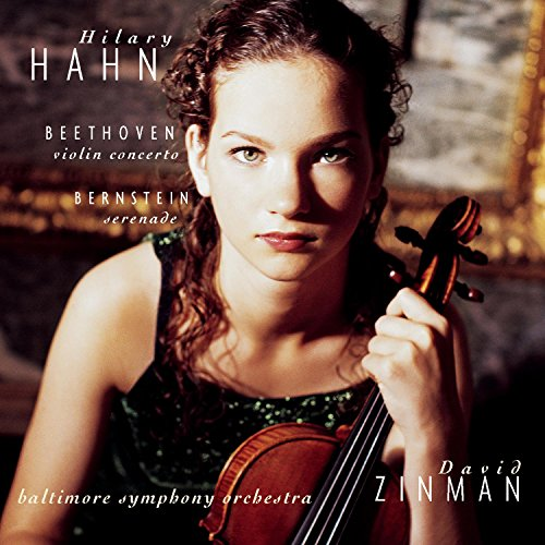 Violinist Hilary Hahn and Baltimore Symphony at Amazon