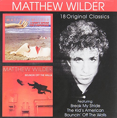 CD-Cover: Matthew Wilder - I Don't Speak The Language