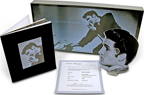 Elvis Shaped CD Box