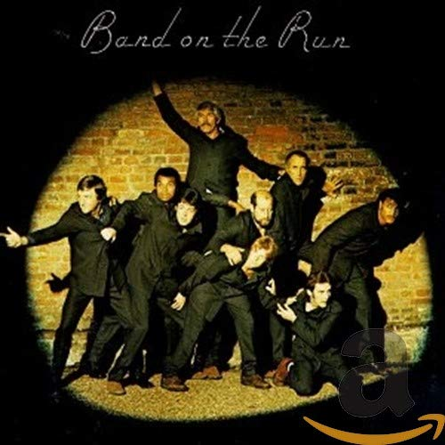 Original album cover of Band on the Run by Paul McCartney & Wings