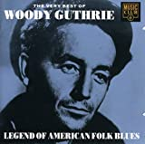 Skivomslag för The Very Best of Woody Guthrie