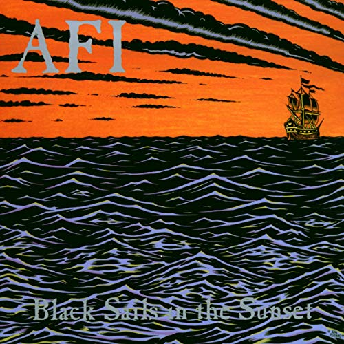 Black Sails in the Sunset by AFI album cover