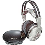 Advent AW770 Traditional Over-Ear Wireless Headphones (Silver)