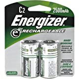 Energizer NH35BP-2 ACCU C Rechargeable Batteries