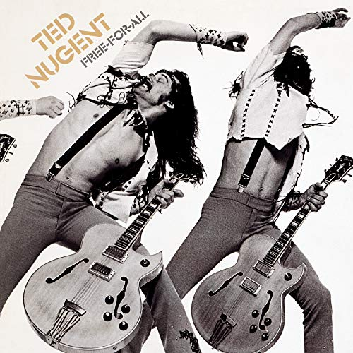 Original album cover of Free-for-All by Ted Nugent