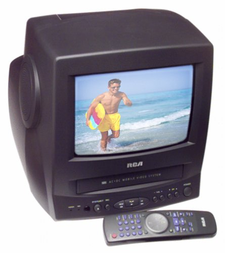 Global online store electronics categories audio video vcrs rca t09082 9 acdc tvvcr combo publicscrutiny Images