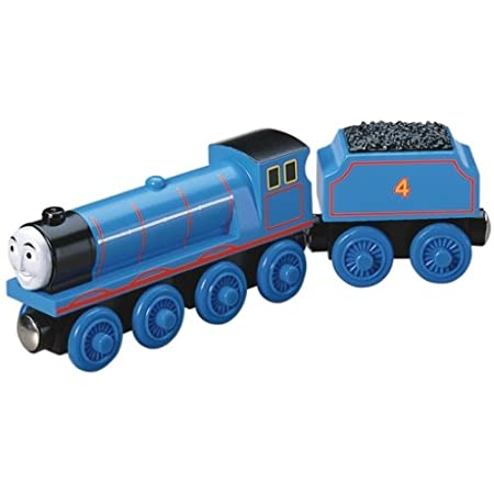 Thomas Wooden Railway Train And Coal Car Gordon