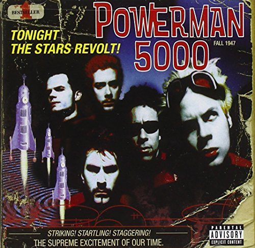 CD-Cover: Powerman 5000 - Tonight the Stars Revolt!