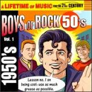 Capa do álbum Golden Rock & Roll Hits of the 50's, Volume 1