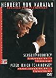 Herbert Von Karajan - New Year's Concert 1988 - Prokofiev Symphony No. 1 & Tchaikovsky Piano Concerto No. 1 / Kissin - movie DVD cover picture
