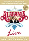 Alabama - For the Record: 41 Number One Hits Live - movie DVD cover picture