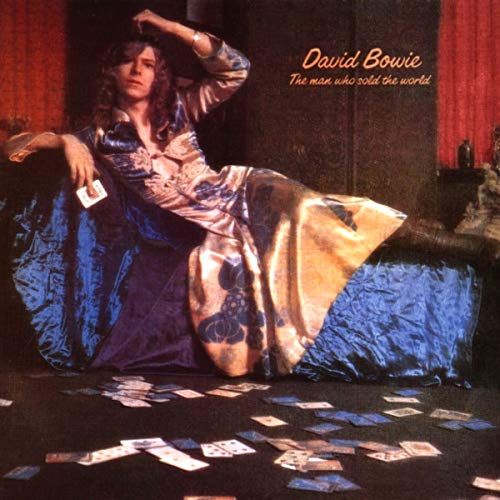 CD-Cover: David Bowie - The Man Who Sold the World