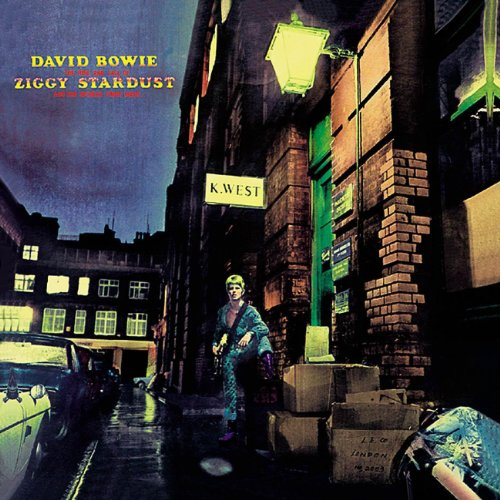 CD-Cover: David Bowie - The Rise And Fall Of Ziggy Stardust
