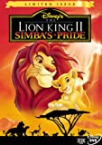 The Lion King II: Simba's Pride (Limited Issue) - movie DVD cover picture