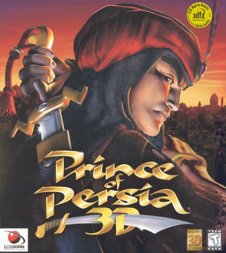 Prince of Persia 3-D by The   Learning Company - Platform:   Windows 95 / 98 / Me