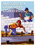 Craftsman Book Company 1572180447 Masonry & Concrete Construction Revised