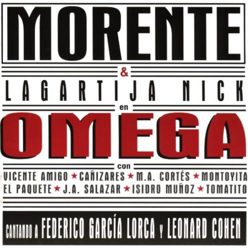CD-Cover: Enrique Morente & Lagartija Nick - Omega