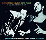 Album cover for Complete Billie Holiday Lester Young 1937-1946