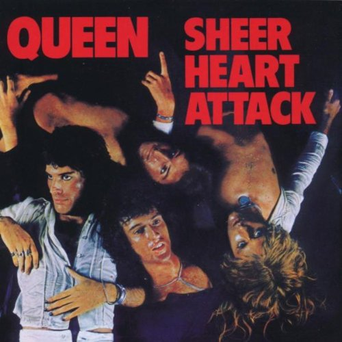 CD-Cover: Queen - Sheer Heart Attack