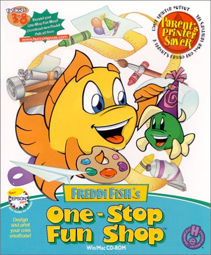 Software online store children 39 s software games for Freddi fish online