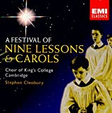 Pochette de l'album pour A Festival of Nine Lessons & Carols (disc 1)