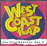 Album cover for West Coast Rap: The First Dynasty, Volume 2