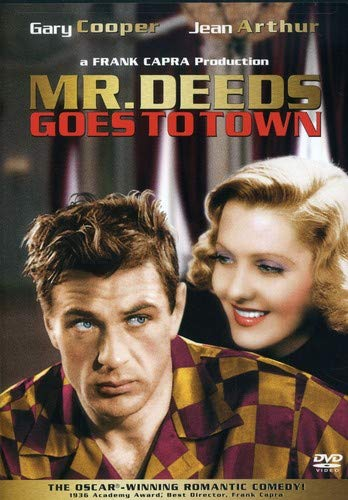 Mr. Deeds Goes to Town cover