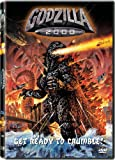 Godzilla 2000 - movie DVD cover picture