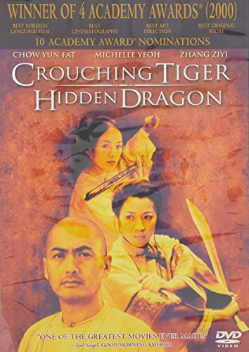 Crouching Tiger, Hidden   Dragon DVD  ~ Yun-Fat Chow (DVD)