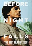 Before Night Falls - movie DVD cover picture
