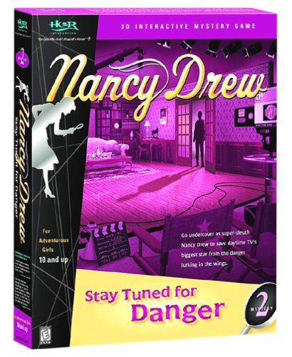 Nancy Drew:   Stay   Tuned for Danger by Her Interactive (CD-ROM)