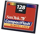 SanDisk 128 MB CompactFlash Card