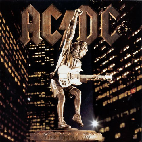 Original album cover of Stiff Upper Lip by AC/DC