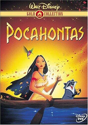 Pocahontas (Disney Gold Classic Collection) (1995) -- Mel Gibson; DVD