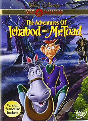 The Adventures of Ichabod and Mr. Toad (Disney Gold Classic Collection) (1949)  Bing Crosby, Basil Rathbone