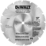 DEWALT DW3372 10 80-Tooth Steel Hollow Ground Planer Saw Blade