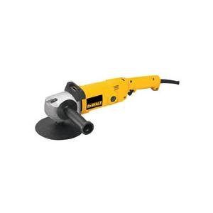 "DEWALT DW849 7/9"" 0-1000/3000 RPM Variable-Speed Electronic Right Angle Polisher."