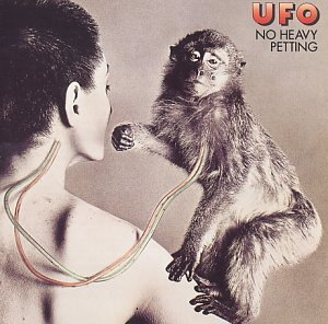 No Heavy Petting by UFO album cover