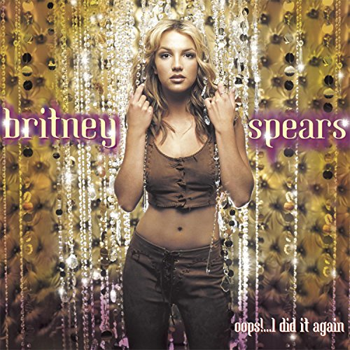Original album cover of Oops!... I Did It Again by Britney Spears, Britney Spears