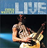 Capa do álbum Chris Whitley Live at Martyrs'