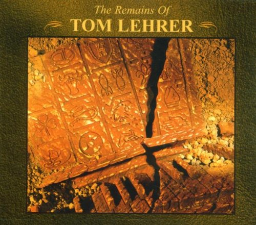 The Remains of Tom Lehrer cover
