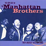 Skivomslag för The Very Best of the Manhattan Brothers