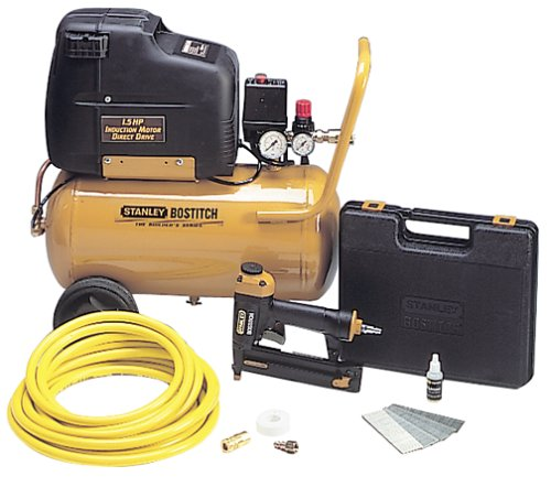 how to use a bostitch air compressor