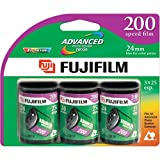 Fujifilm 200 Speed 2 Rolls 25 and 1 Roll 40 Exposure APS Film (3 Pack)