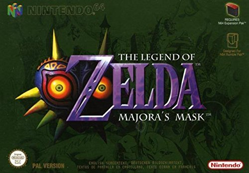 Legend Of Zelda, Majoras Mask