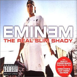 Eminem - The Real Slim Shady (CD Single - Zortam Music